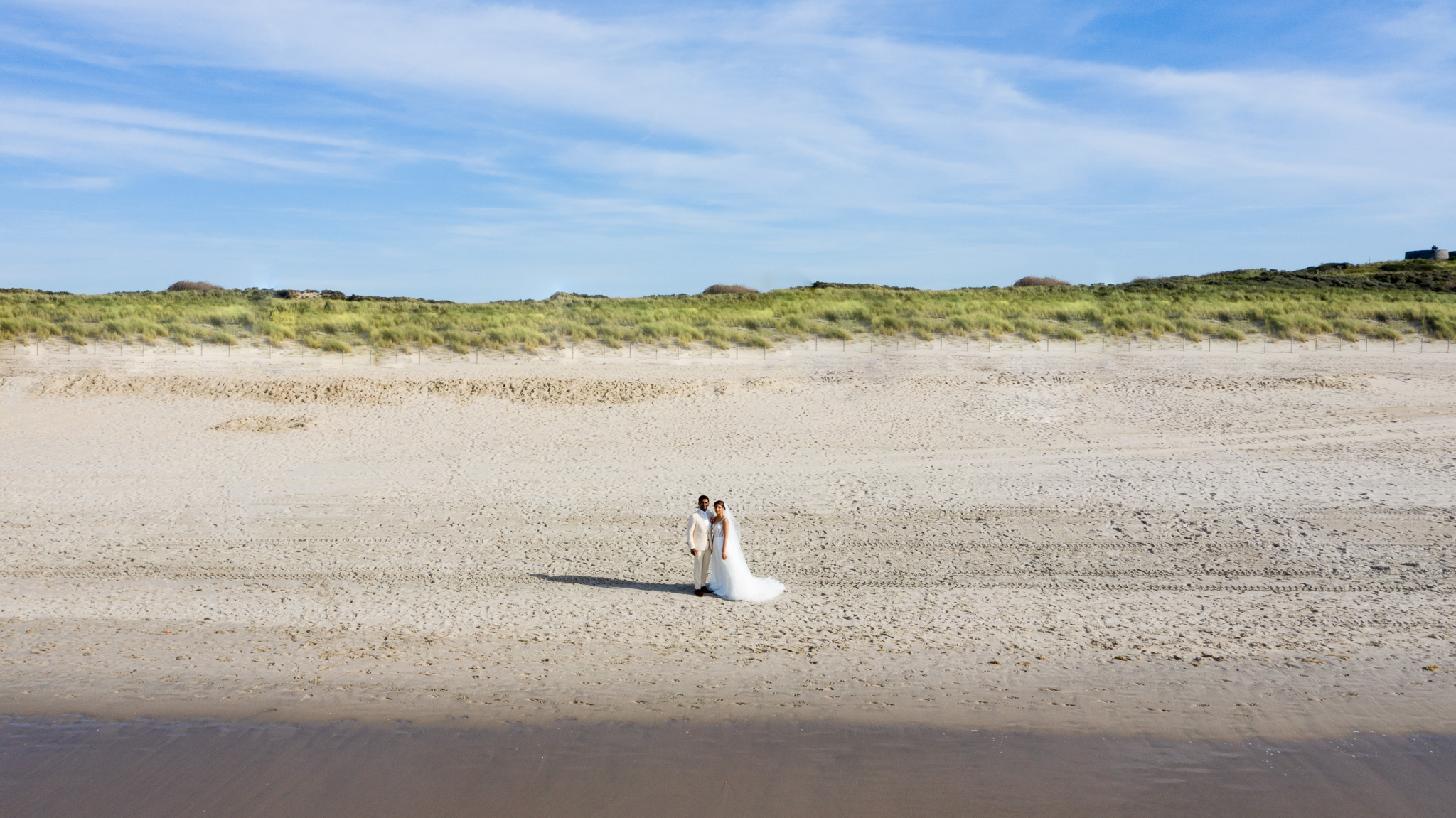 Doubleshot Bruidsfotografie Drone Fotografie